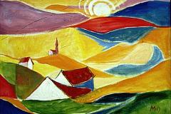 Landschaftskomposition
