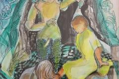 Kundry badet Parsifal
