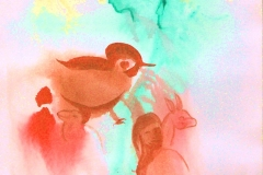 Rotes Vögelchen